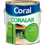 Tinta Coralar Coral Acrilico Rosa Açai 3,6l