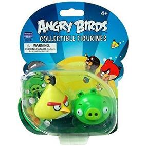 Angry Birds De Colección Estatuilla 2-pack Con Amarillo De