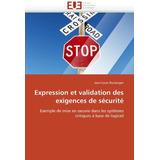 Expression Et Validation Des Exigences De Securite; Jean-lo
