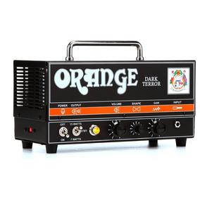 Cabezote Para Guitarra - Dark Terror 15w - Orange.