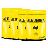 Kit 4 Albumina Pura - Naturovos - Total: 2kg - Sem Sabor