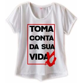 Quadro Gato Frase Camisetas - Camisetas e Blusas no Mercado Livre Brasil 6357fc40c95
