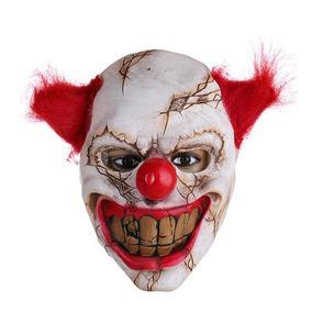 Máscara De Palhaço Terror Halloween De Látex Carnaval