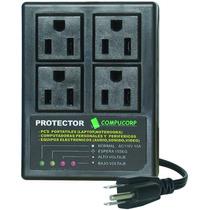 Protector De Voltaje Equipos Electronicos 4 Tomas