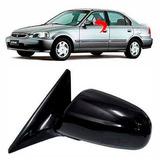 Retrovisor Honda Civic Lado Esquerdo Ano 1997 1998 1999 2000