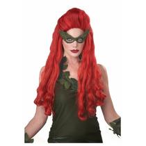 Peluca De Hiedra Venenosa Batman Para Damas Envio Gratis