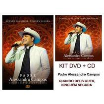 Cd+dvd Padre Alessandro Campos Original Lacrado Frete Gratis