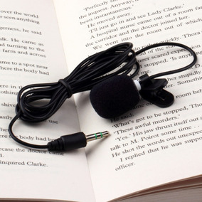 Microfone Lapela Mini Professores Gravação Mãos Livres Pc