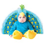 Disfraz Precioso Traje De Pavo Real Incharacter Del Bebé