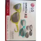 Cinema Glasses Lg 3d 4 Lentes