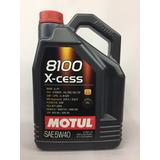 Aceite Lubricante Sintetico Motul 8100 5w40 X 5 Lts