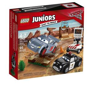 10742 Lego Juniors - Carros 3 - O Treino De Velocidade De Wi