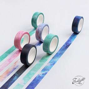 Fitas Decorativas Washi Tape Scrapbook - Céu, Estrelas.