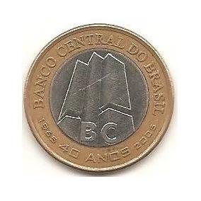 Moeda 40 Anos Do Banco Central