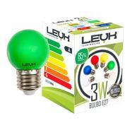 Lampara Mini Foco Colores 3w = 20w 220v Led Bajo Consumo