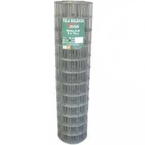 Tela Soldada 1.5mx25.0m Fio 1,65mm Tidão