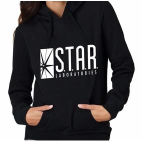 Sudadera Mujer Star Labs Flash Laboratories Envío Gratis!
