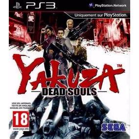 Jogo Yakuza Dead Souls Ps3 Mídia Física Lacrado Original