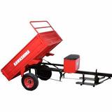 Carreta Agrícola Kawashima Para Micro Trator Motocultivado