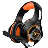 Ps4 Gaming Headset, Over-ear Auriculares Con Micrófono Para