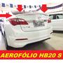 Aerofolio Esportivo Hb20 S Sedan, 2013 A 2017 Dvd Din Roda