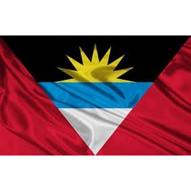Bandera Antigua Y Barbuda Medida Oficial 90 X 1.50
