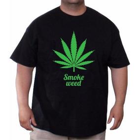Remera Cannabis Marihuana Talles Especiales Remeras Grandes