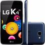 Celular Smartphone Lg K4 8gb 4g Tela4.5 Flash Câmera Frontal