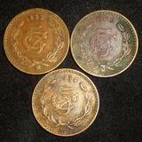 5 Centavos 1933 1934 1935 Monograma Buena Condicion $40 C/u