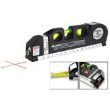 Nivel Laser Huincha Medir Linea Vertical Y Horizontal Laser