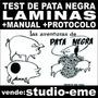Laminas Test De Pata Negra + Manual + Protocolo (impresos)