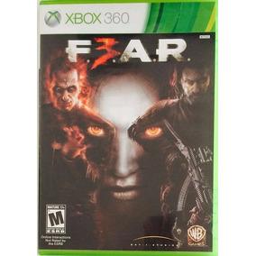 Jogo Fear 3 F.e.a.r. 3 Em Dvd Mídia Física Original Xbox 360
