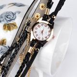 Relógio E Pulseira Feminino Tipo Bracelete Dk7 -rel