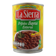 Frijoles Bayos Enteros La Sierra Lata 560 Gr