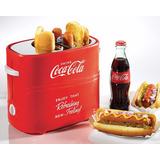 Tostador Maquina Para Hot Dogs Nostalgia Electrics Cocacola