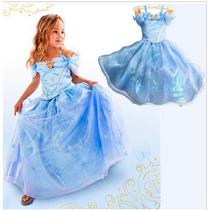 Fantasia Cinderela Infantil Pronta Entrega