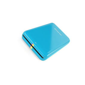 Impresora Polaroid Zip Mobile-fotos Instantáneas+ Papel-azul