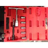 Kit Fresas Para Limpiar Asientos Inyectores Diesel Eurotech