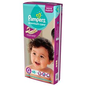 Pañales Pampers Premium Care G 9-12,5kg X46u.