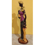 Muñecas Decorativas. Negras Africanas Pintadas Y Decoradas.
