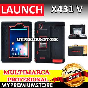 Escaner Automotriz Launch X431 V Profesional 2 Años Act