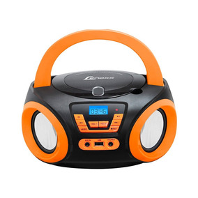 Som Portátil Boombox Lenoxx Rádio Fm Usb + Auxiliar Bd121_