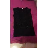 Blusa Negra De Colores . Santa Tecla Merliot
