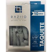 Taquete Plástico 5/16 Raziio (75 Piezas Por Caja)