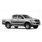Kit Adesivo Hilux Cabine Dupla Toyota Th1 Pick-up Tuning La