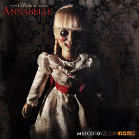Boneca Annabelle Replica 1/1 Mezco 2017 46 Cm Filme Novo