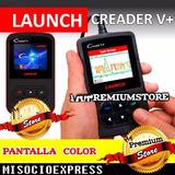 Launch Creader V+ Obd2 Scanner Serie X431 Escaner Automotriz