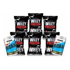 6 Kg Proteina Whey Protein Gold + 2 Kg Bcaa Aminoácidos !!!
