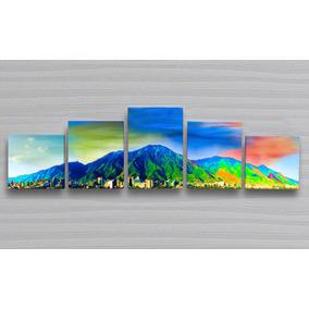 Cuadro Multipanel Mdf Avila Medidas 101 X 29 Cm Foto Canvas
