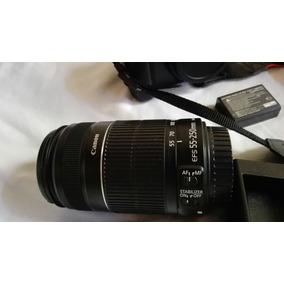 Camara Profesional Canon Rebel Eos T3 Con Lente Canon55-250